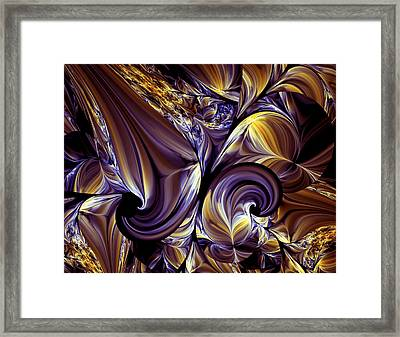 Fashion Statement Abstract Framed Print