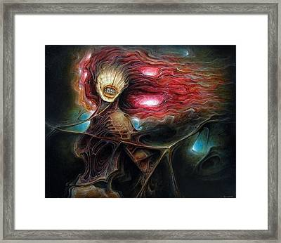 Fashion Zombie Framed Print by Robert Anderson