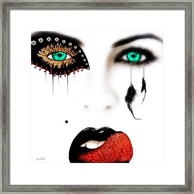 Fashionista Framed Print