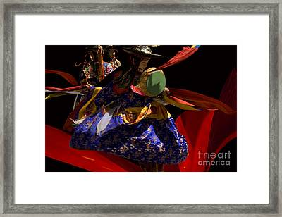 Framed Print featuring the digital art Fasre Faster by Angelika Drake