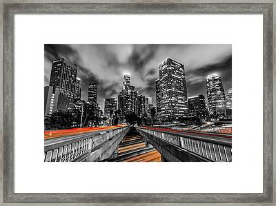 Fast And The Furious Framed Print