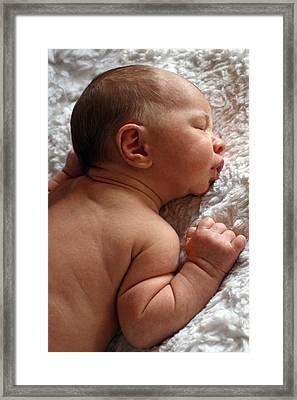 Fast Asleep Framed Print