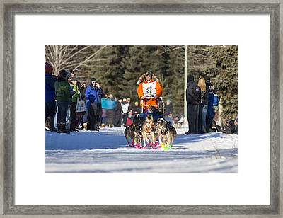 Fast Booties Framed Print
