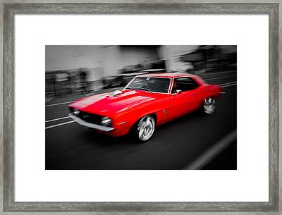 Fast Camaro Framed Print by Phil 'motography' Clark