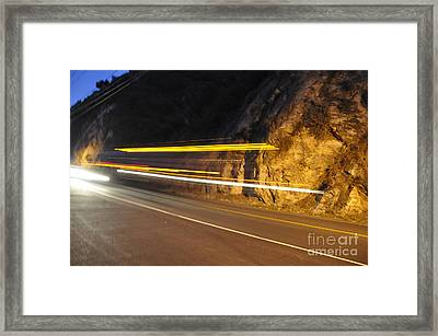 Fast Car Framed Print by Gandz Photography