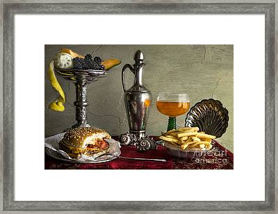 Fast Food Framed Print
