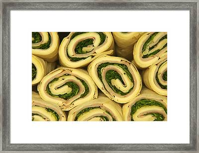 Fast Food Rolls  Framed Print by Ioan Panaite