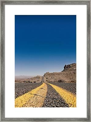 Fast Forward Framed Print by Nathan Larson