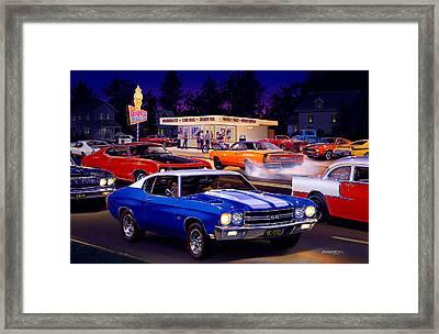 Fast Freds Framed Print by Bruce Kaiser