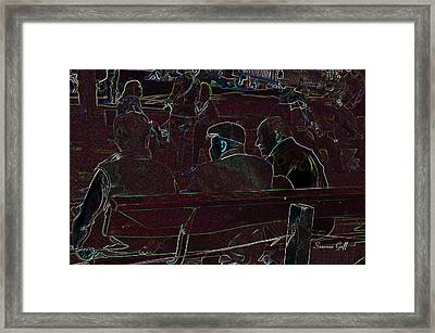 Fast Friends Framed Print by Suzanne Gaff