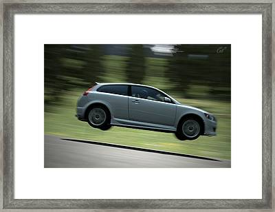 Fast Gliding Framed Print by Michael Murphy
