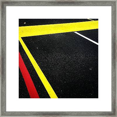 Fast Jabroni Framed Print by CML Brown