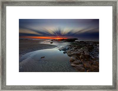 Fast Light Framed Print by Mark Leader