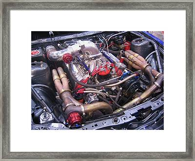 Framed Print featuring the photograph Fast Plumbing Street Rod Style by Don Struke