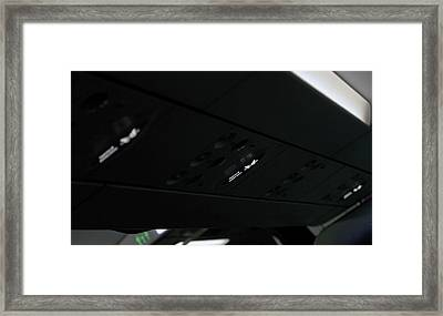 Fasten Seat Belts Framed Print