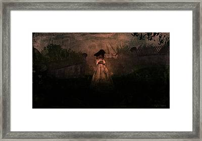 Framed Print featuring the digital art Faster by Kylie Sabra