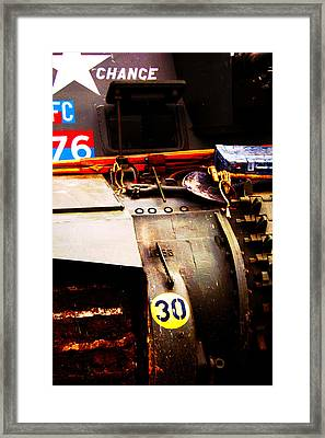 Fat Chance Framed Print by Jame Hayes