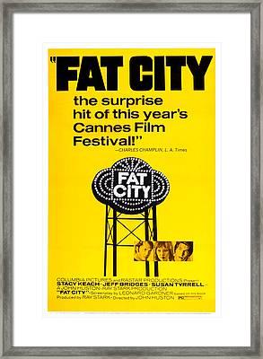 Fat City, Us Poster Art, Center Framed Print by Everett