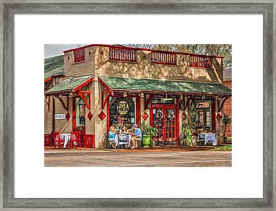 Fat Hen Grocery - Paint Framed Print by Steve Harrington