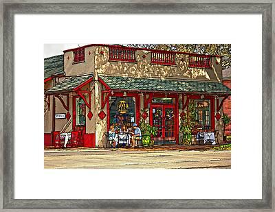Fat Hen Grocery Painted Framed Print by Steve Harrington