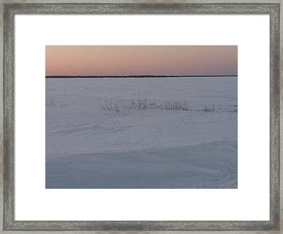 Fat Ladies Beach Menominee Framed Print by Jonathon Hansen