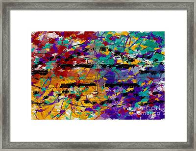 Framed Print featuring the digital art Fat Tuesday by Lon Chaffin