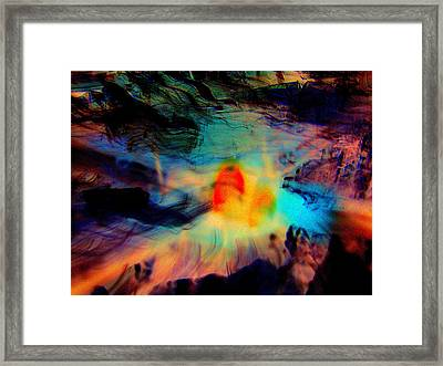 Fatal Attraction Framed Print by Shirley Sirois