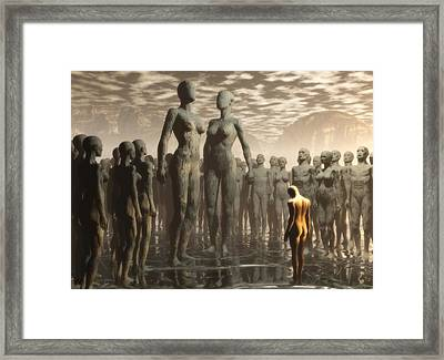 Framed Print featuring the digital art Fate Of The Dreamer by John Alexander