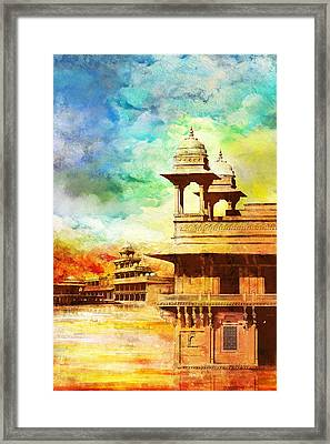 Fatehpur Sikri Framed Print