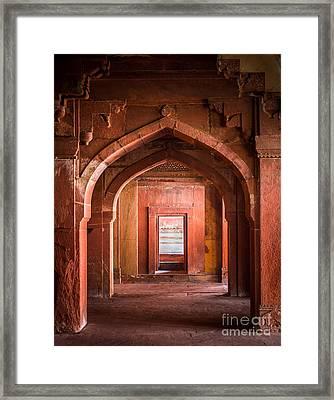 Fatehpur Sikri Entrance Framed Print