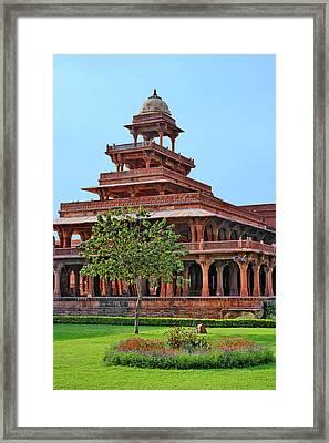 Fatehpur Sikri, Uttar Pradesh, India Framed Print by Adam Jones