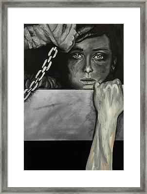 Fatemi Uscire Framed Print by Peyton Hartwig