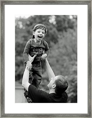 Father And Son IIi Framed Print