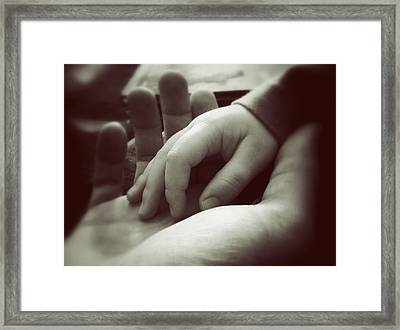 Father And Son Framed Print by Marco Oliveira