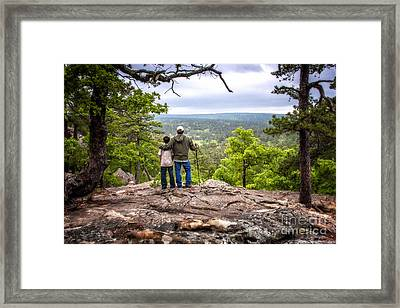 Father And Son Framed Print by Tamyra Ayles
