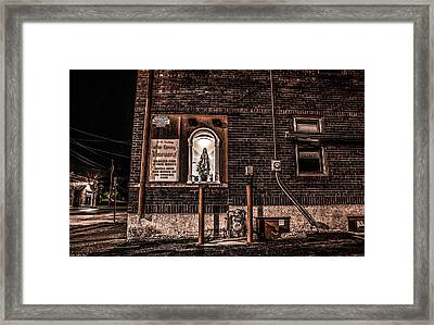 Framed Print featuring the photograph Father Conroy's Vinyard Of Hope by Ray Congrove
