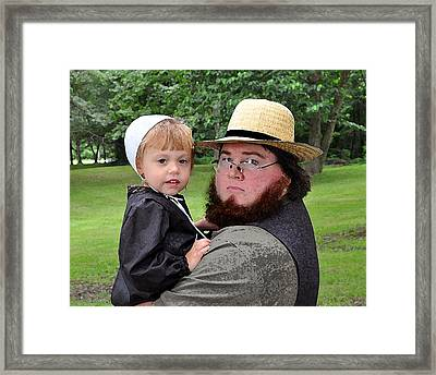 Father Daughter Time Framed Print by Brian Graybill