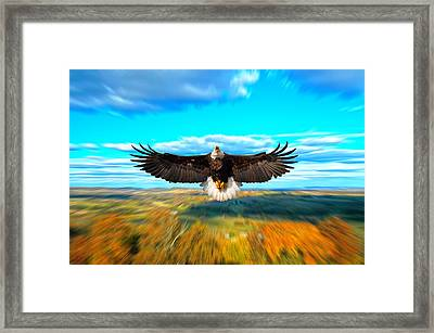 Father Restore Our Land Framed Print by Randall Branham