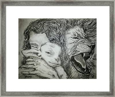 Father Spirit Son Image 2 Framed Print