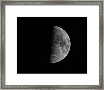 Fathers Day Moon 1  Framed Print