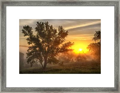 Father's Day Sunrise Framed Print