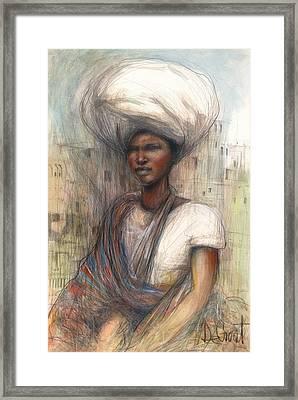 Fatima Framed Print by Gregory DeGroat