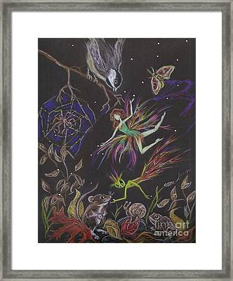 Fauna Framed Print by Dawn Fairies