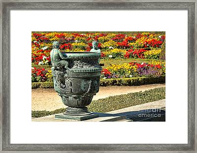 Fauns In Versailles Framed Print by Olivier Le Queinec