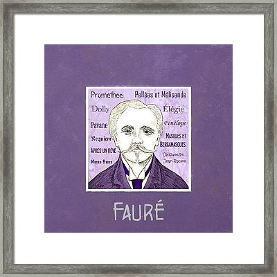 Faure Framed Print by Paul Helm