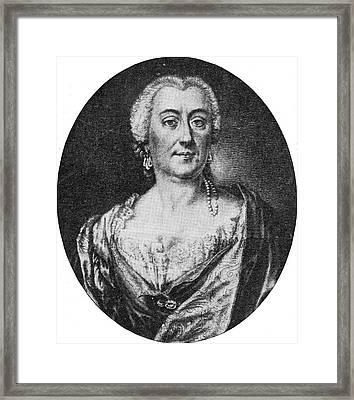 Faustina Bordoni Italian Mezzo-soprano Framed Print