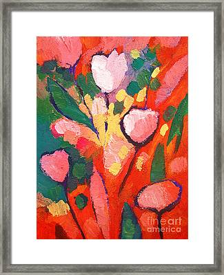 Fauve Flowers Framed Print
