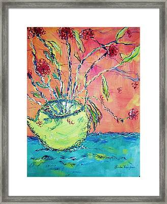 Fauvisum Framed Print by Linda Vaughon