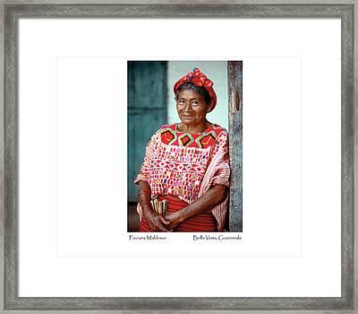 Faviana Maldonar Framed Print by Tina Manley