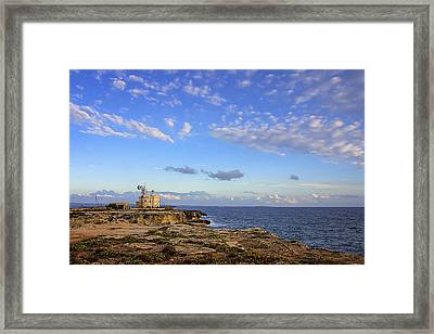 Favignana - Lighthouse Framed Print